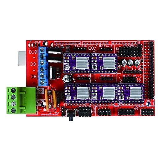 popprint rampas 1.4 Controlador con Mega2560 R3 con 5 piezas ...