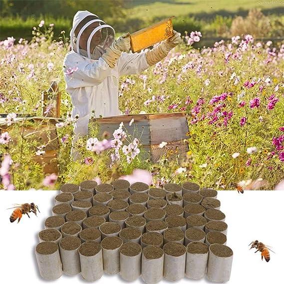 54Pcs Beekeeping Tool Bee Hive Smoker Fuel Chinese Smoke Made Honey Herb W0A0