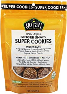 product image for Go Raw - Sprouted Cookies Ginger Snap - 3 oz (pack of 2)