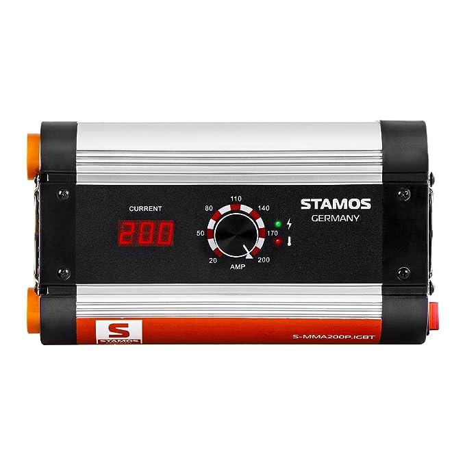 Stamos Germany - Soldador MMA - 200 A - IGBT - 230 V - Hot Start - Envío Gratuito: Amazon.es: Bricolaje y herramientas