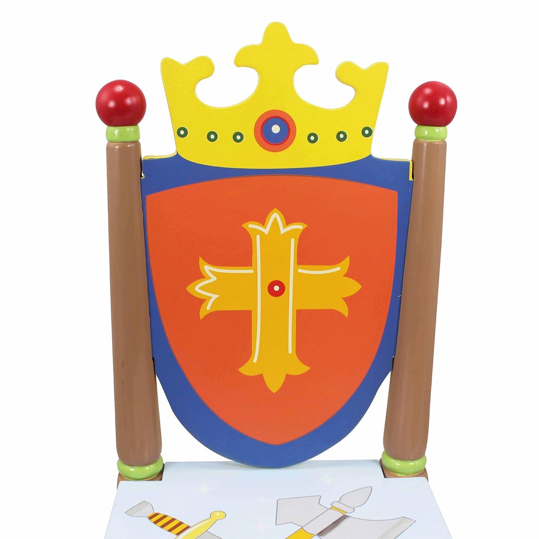 Fantasy Fields Knights Dragons Kinder Kids Holztisch und Stuhl-Set TD11837A