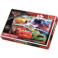 Trefl Çocuk Puzzle Cars 3 Winning The Race. Disney 160 Parça