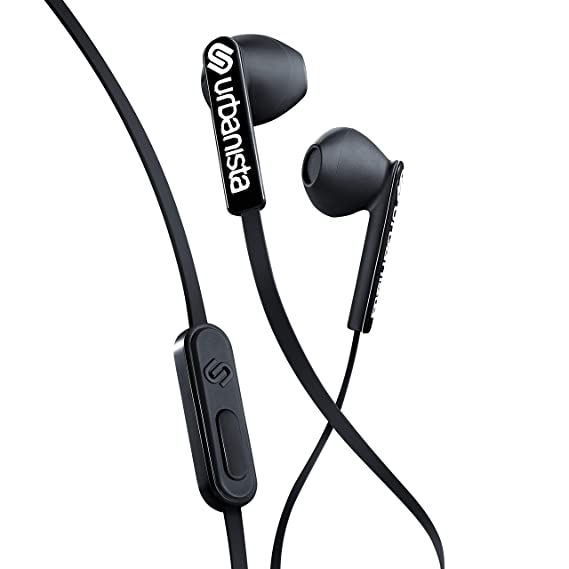 Urbanista San Francisco Earphones Dynamic Ear-Pods, Call-Handling with  Microphone, 3 5mm Stereo Input - Dark Clown