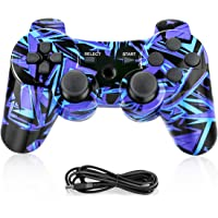 Powcan Mando Inalámbrico PS3, Bluetooth PS3 Gamepad Controller