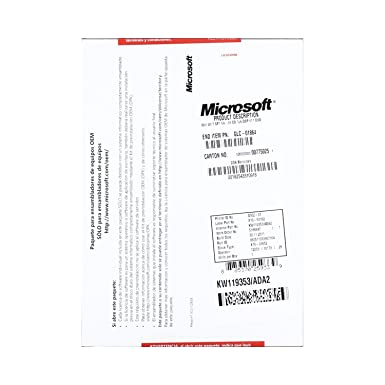 Microsoft OEM Windows 7 Ultimate Sp1 64-bit PK1 - Español