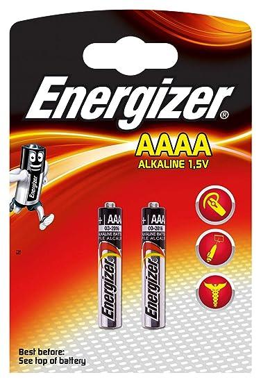 Energizer Alkaline AAAA Speciality Batteries, 2 Count