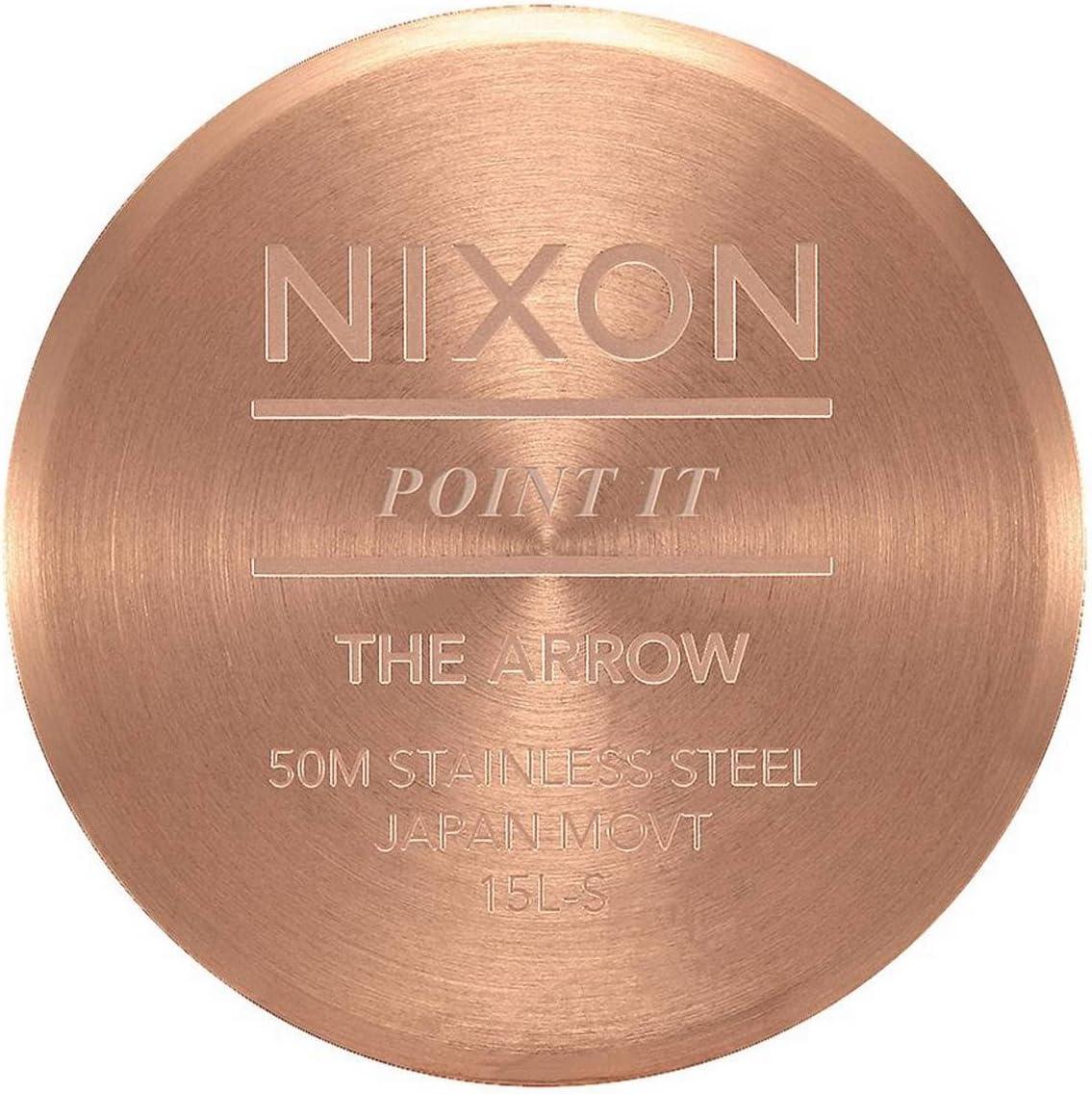 Nixon Arrow -Spring 2017- All Rose Gold/Brown Or Rose/Marron.