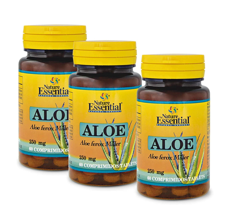 Nature Essential - Aloe 250 mg 60 comprimidos