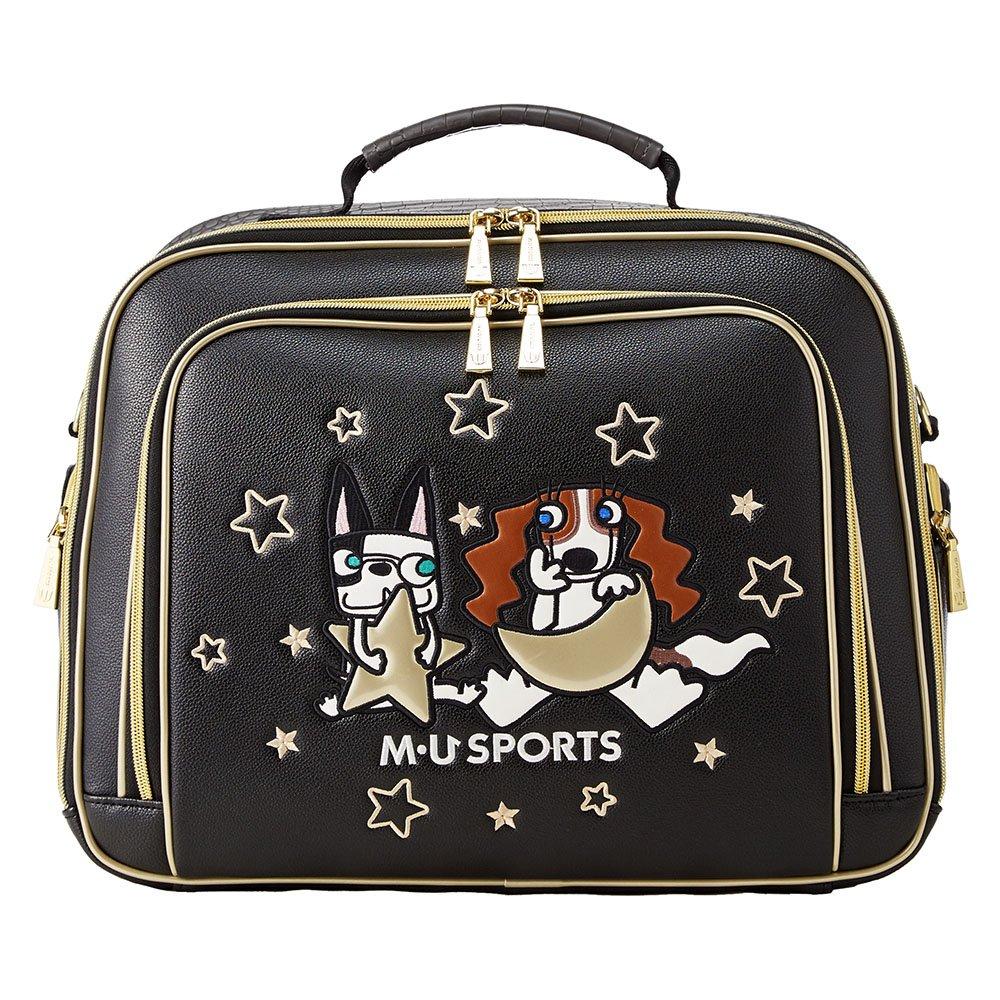 MU SPORTS(エム ユースポーツ) ボストンバッグ 703W2200 ボストンバッグ  ブラック B079YW87K1