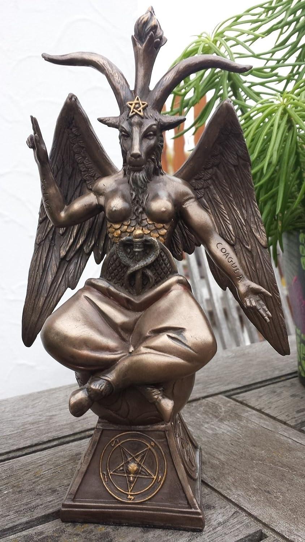 Baphomet. Diablo. Satanás. Figura! Bronceada!: Amazon.es