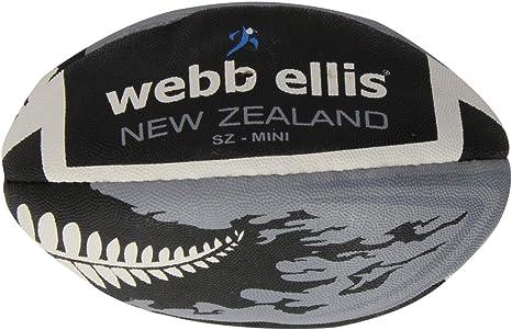 Webb Ellis - Balón de rugby, diseño de bandera de Nueva Zelanda ...