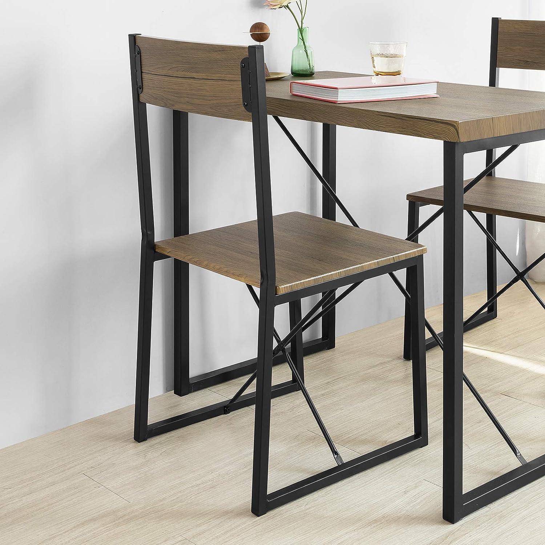SoBuy OGT19-N 19-teilig Essgruppe Esstisch mit 19 Stühlen Sitzgruppe Küche  Küchentisch Holztisch