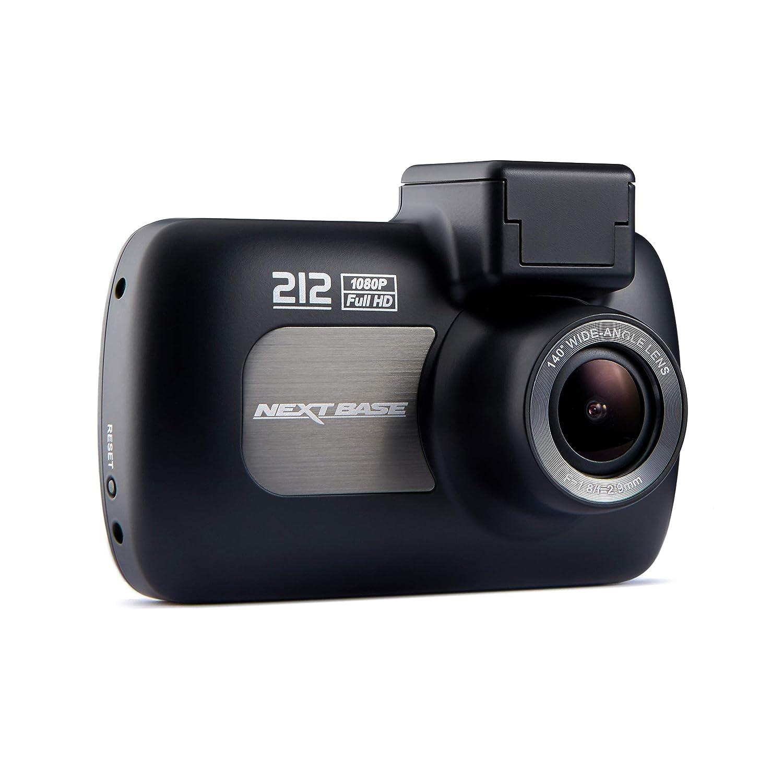 Angle de vision de 140 /° Nextbase 212 Lite Noir Appareil photo num/érique int/égr/é dans une voiture Dash 1080p