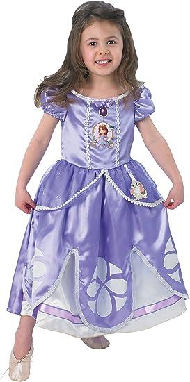 Princesas Disney - Disfraz de Princesa Sofía para niña, infantil 1 ...