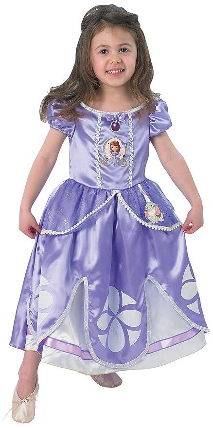 Princesas Disney - Disfraz de Princesa Sofía para niña, infantil 1-2 años (Rubies 154980-T)