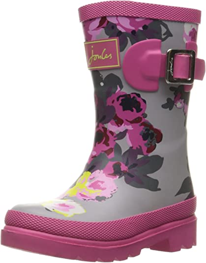 K Joules JNR Girls Welly Rain Boot JNRGIRLSWELLY Toddler//Little Kid//Big Kid