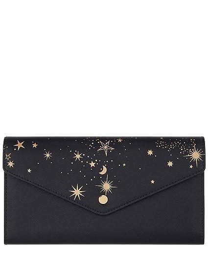 Accessorize cartera de viaje estampado estrellas – mujer – talla única