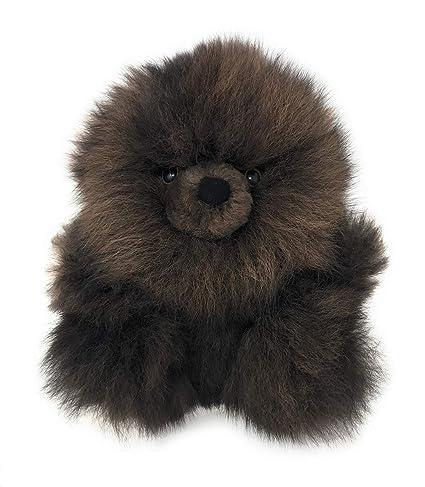 d7b1ce0644aa1c Amazon.com: Baby Alpaca Fur Sitting Chubby Bear - Hand Made 5+ Inch Mocha -  Each Bear is Unique: Home & Kitchen
