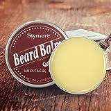 Beard Balm Cream Crema idratante naturale Growth Leave-In Condizionatore Mustaches --- Regalo perfetto per il giorno del padre