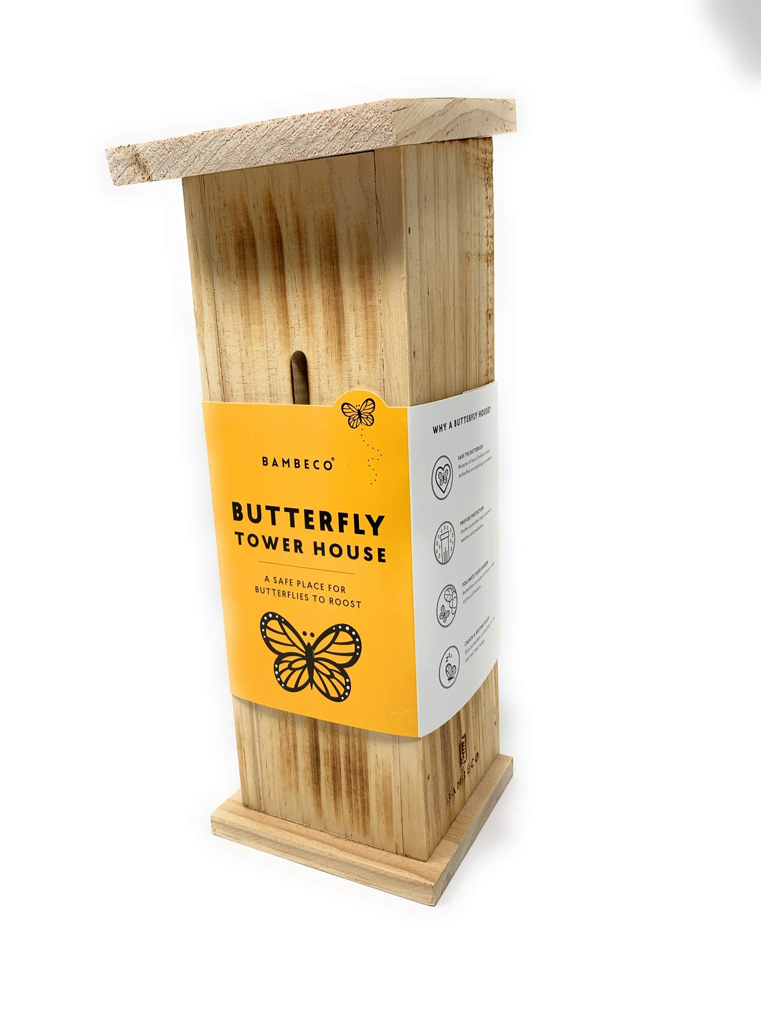 bambeco Butterfly Tower House (12'' Tall x 5'' Wide)