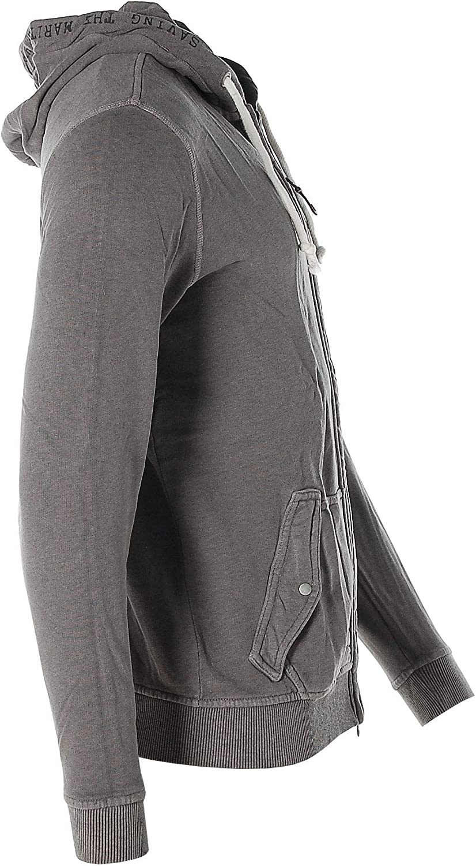 ARQUEONAUTAS Herren Sweatjacke Sweat Jacke mit Kapuze -Superior Apparel- Taupe