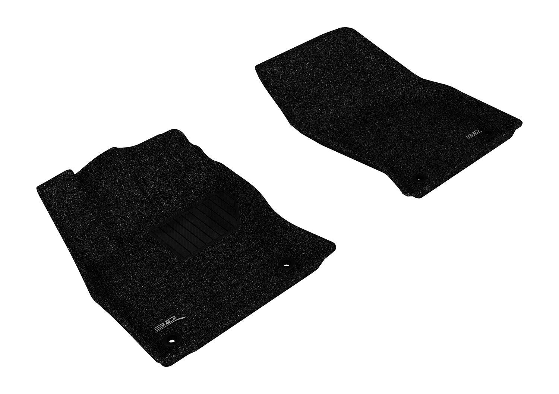 3D MAXpider Complete Set Custom Fit All-Weather Floor Mat for Select Audi A3//S3 Models Classic Carpet L1AD03302209 Black