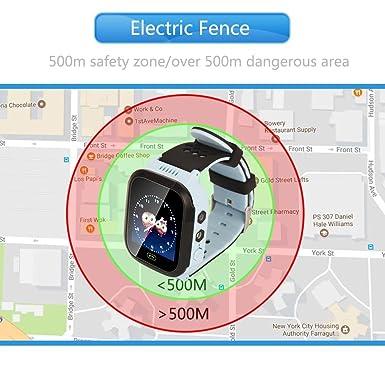 Amazon.com: Reloj inteligente con cámara para niños, se ...