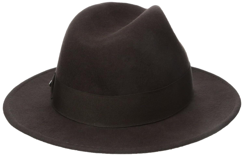 Dorfman Pacific Indiana Jones de los Hombres Repelente al Agua Outback  Fedora de Fieltro de Lana con Grosgrain  Amazon.com.mx  Ropa 600ccadbee2
