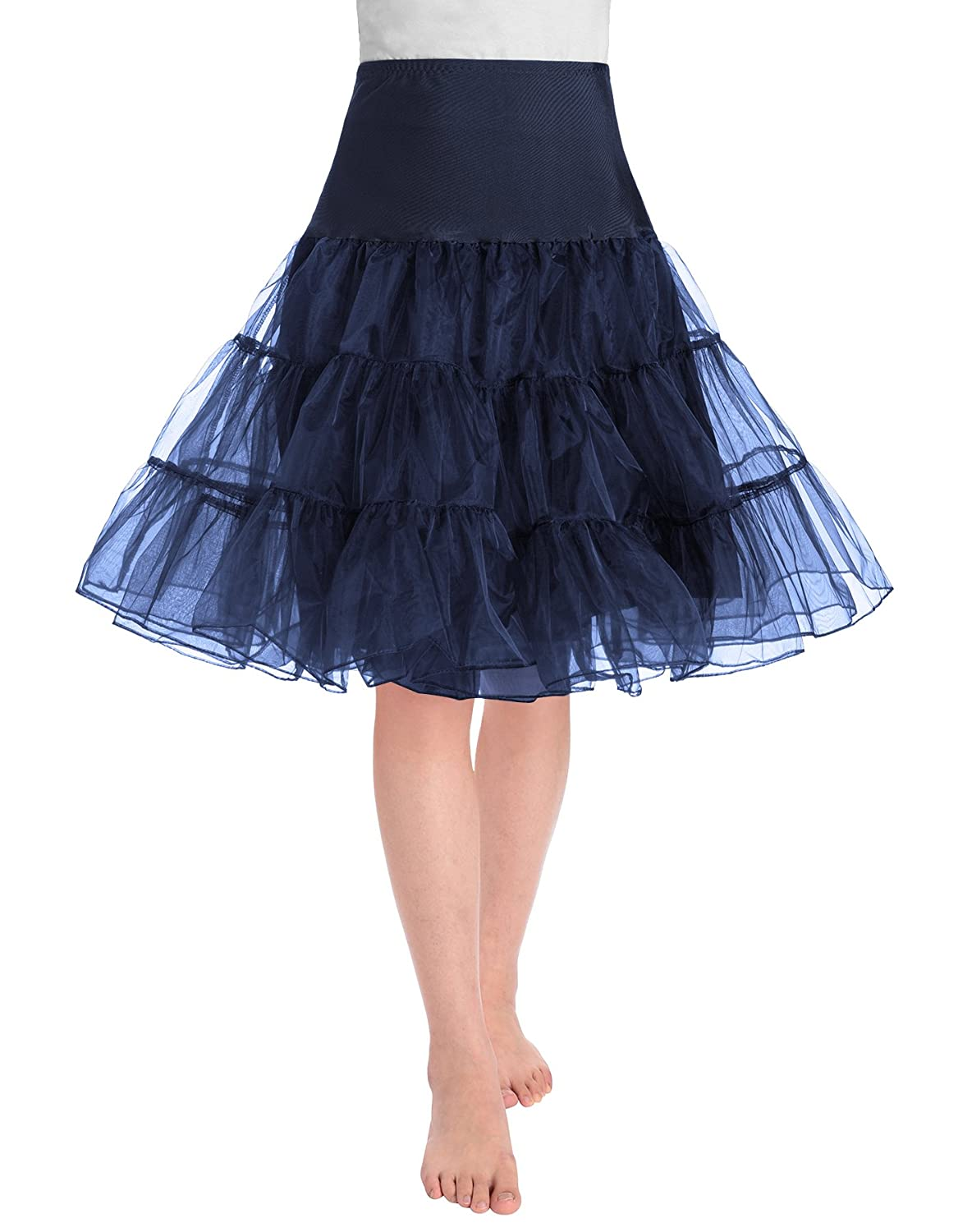This JustinCostume's rockabilly petticoat skirt is mainly suitable for  women, or teen girls. It is a petticoat skirt, perfect to wear under dress  or skirt, ...