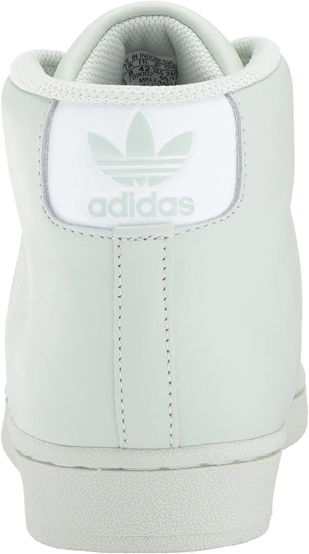 Adidas Herren Promodel Hohe Sneaker Grün/Weiß/Gold (Linen Green/White/Gold Metallic)