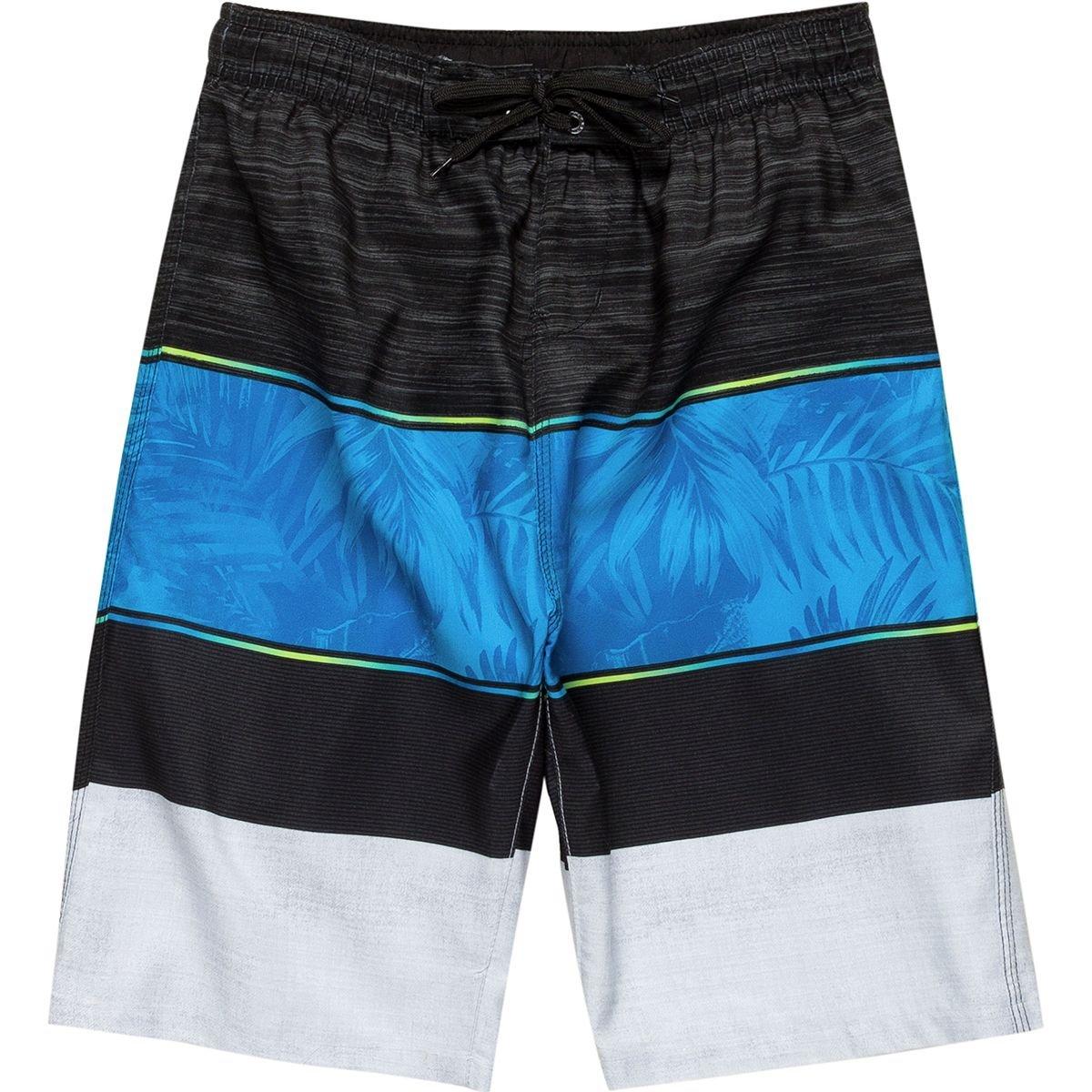 Burnside Waikoloa Board Short - Boys' BN7429-WHT-8