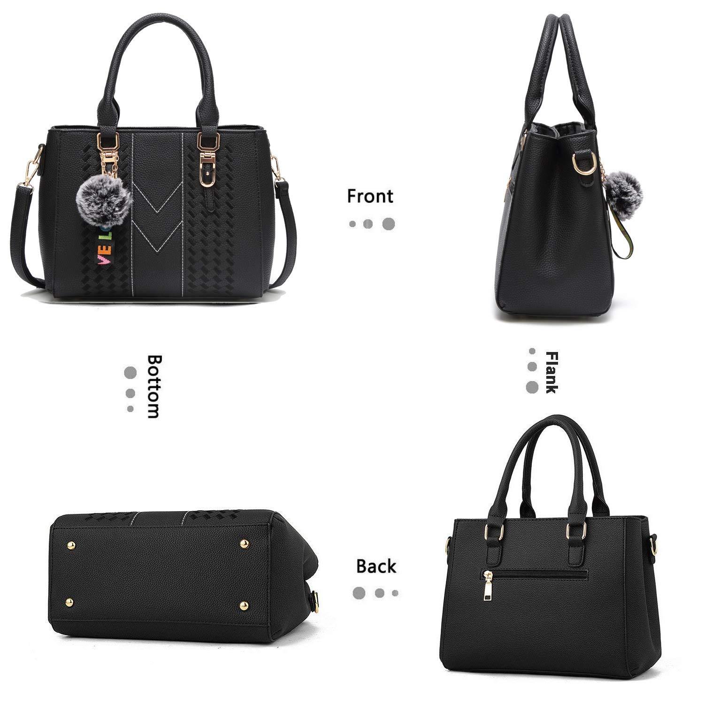 YNIQUE Satchel Purses and Handbags for Women Shoulder Tote Bags