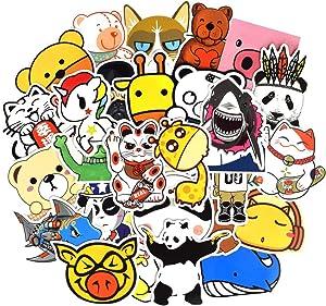 Waterproof Cartoon Vinyl Stickers Bomb Water Bottle Laptop Gifts for Kids (50Pcs/Pack)
