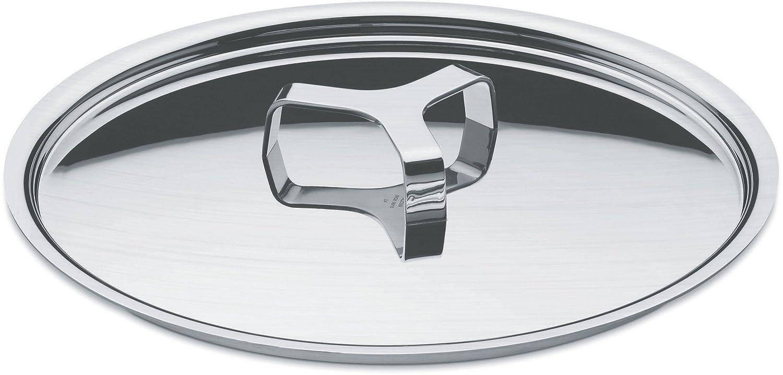 Alessi A di Pots&Pans Lid, Stainless Steel, 14 cm, (AJM200/14) Jasper Morrison Alessi USA Cookware Lids