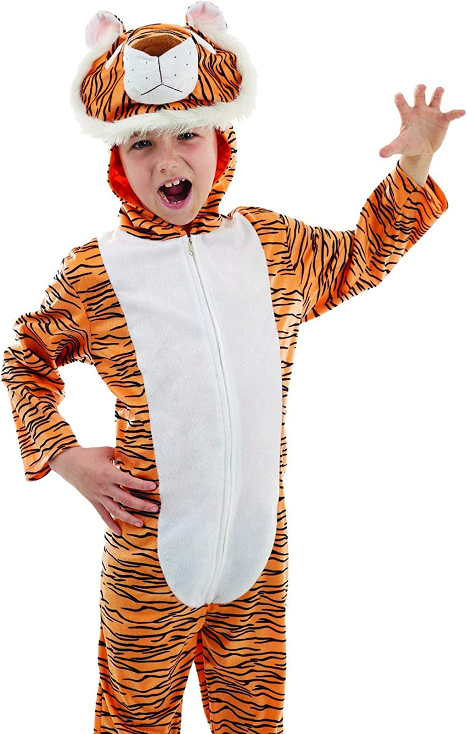 Kids Animal Costumes Childrens Cute Tiger Spider Dragon Boys /& Girls Outfits
