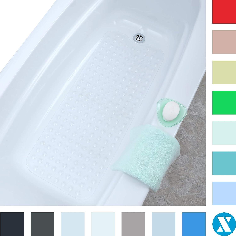 39/'/'L x 16/'/'W Original Bath Tub and Shower Mat-Clear White High Quality