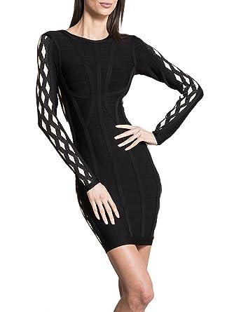 Black bandage dress amazon