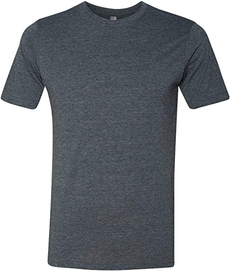 12 Pack Next Level Mens Poly//Cotton Tee 6200-Charcoal