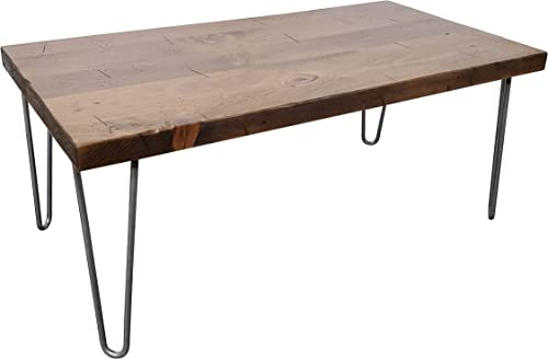 Peaceful Classics Rustic Wooden Coffee Table | Industrial