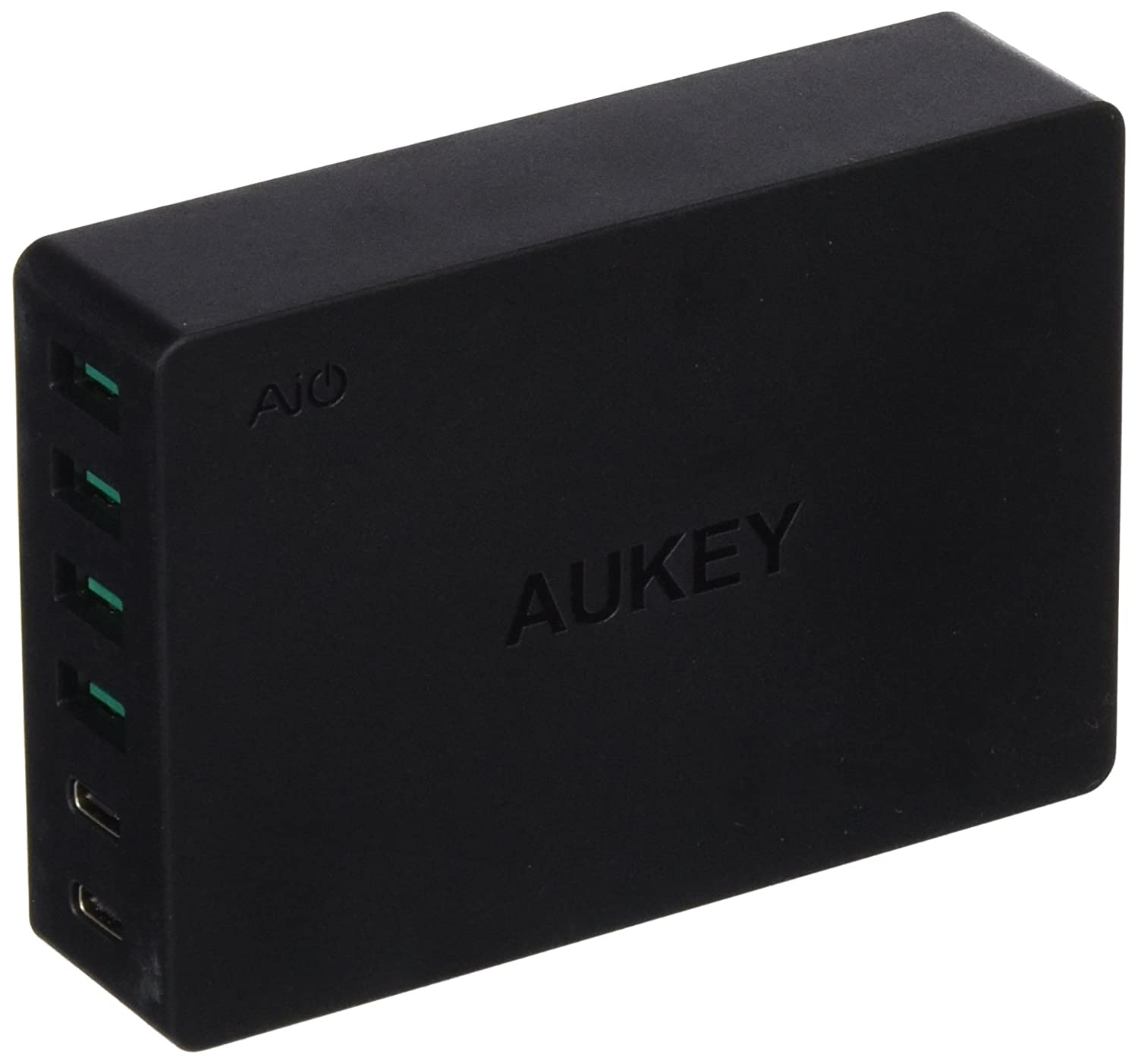 Aukey PA-Y6-TYES-N - Cargador USB, Color Negro: Amazon.es ...