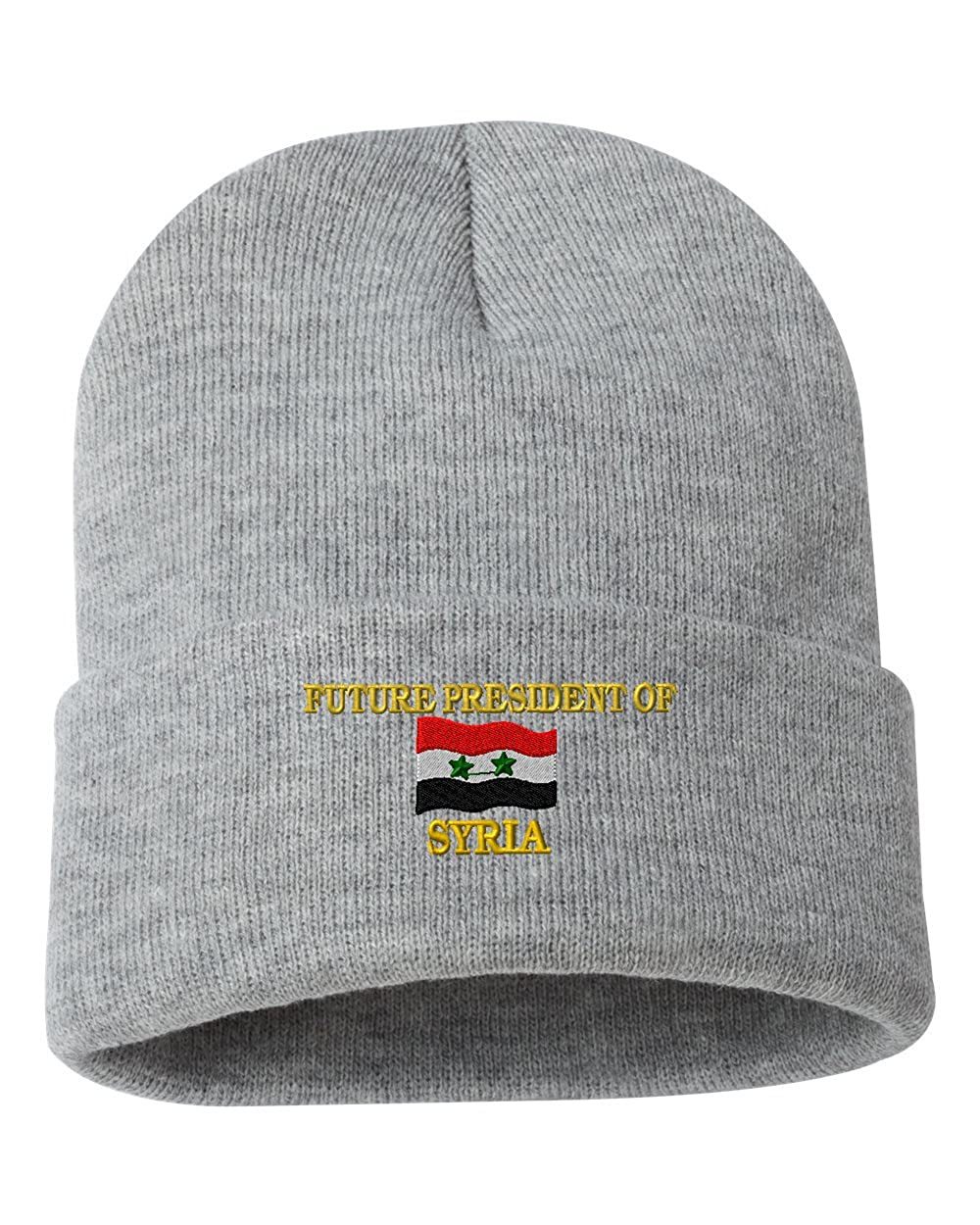 FUTURE PRESIDENT OF SYRIA Custom Personalized Embroidery Embroidered Beanie