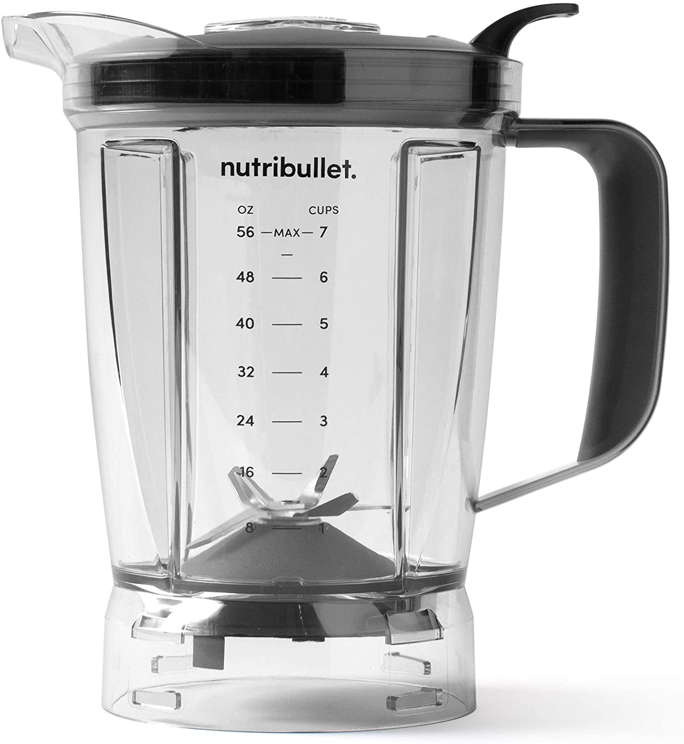 NutriBullet Blender 56 oz Pitcher, Clear/Black