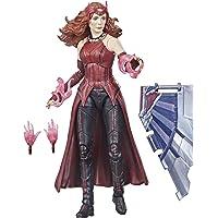 "Marvel - Legends Series - 6"" Scarlet Witch - Wanda Maximoff - 4 Accessories - Build-a-Figure - Premium Design Action…"