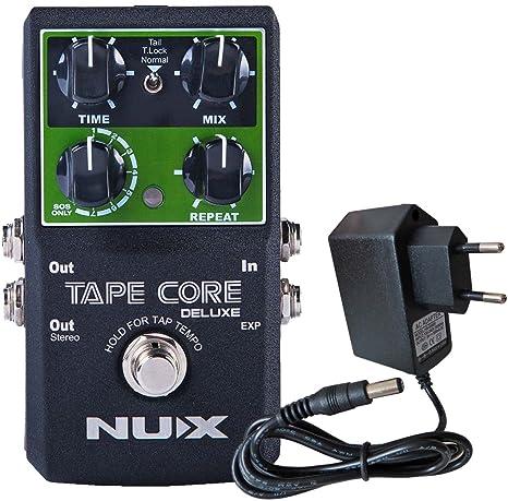 Nux Tape Core Deluxe Guitarra de efecto dispositivo Delay Keepdrum ...