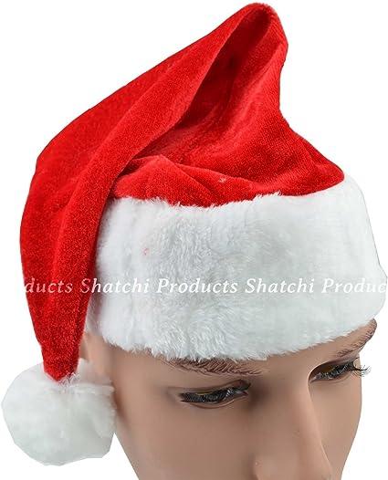 PACK OF MINI RED SANTA HAT ON HEADBAND WHOLESALE FANCY DRESS CHRISTMAS ACCESSORY