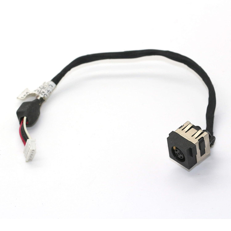 DNX Connecteur de Charge d'alimentation Compatible PC Portable Dell Latitude E5430 E5530 171XT DC30100H100 DC30100GI00 DC30100HS00 0NCRJD_0001 câ ble, DC in Jack Power, Note-X