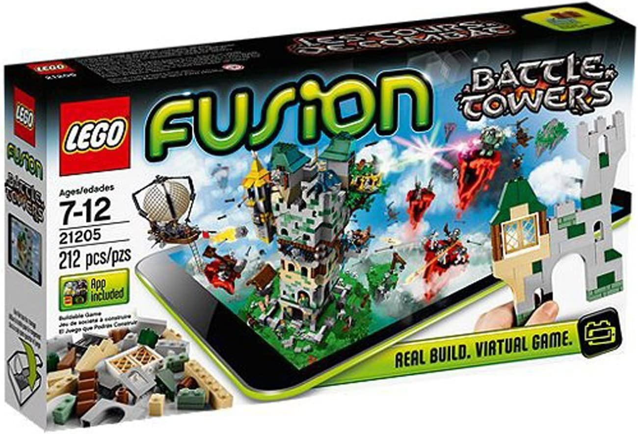 LEGO Fusion Set 21205 Battle Towers