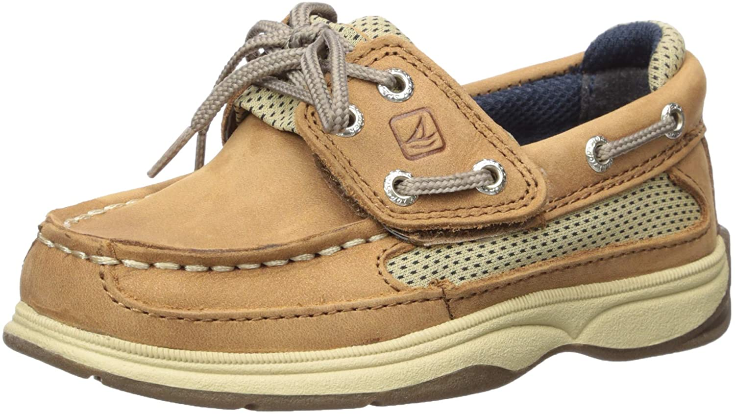 Sperry Unisex-Child Same day Max 61% OFF shipping Lanyard Alternative Closure Boat Shoe