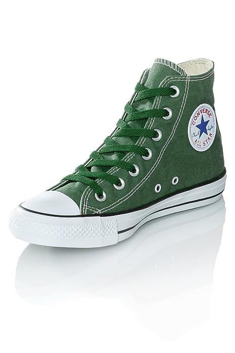 all star converse hombre verdes