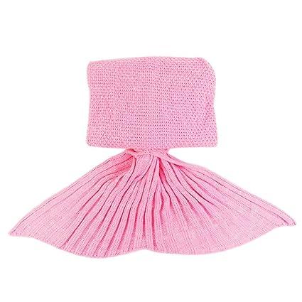 A mano punto cola de la sirena Manta, suaves calientes flexible estirable Sala / Room